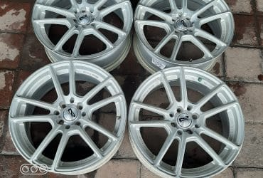 Jual velg second ar evolution r17 lebar 7,5 rata et 42
