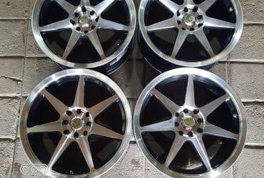 Forsale Velg Racing Auto Speed R15 lebar 7,5 Pcd 4×100/114 Et42