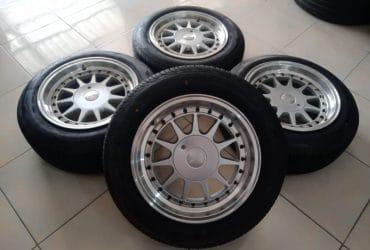 VELG mobil racing HARTGE(IKIMASU) +BAN ACHILES 185 65 R15