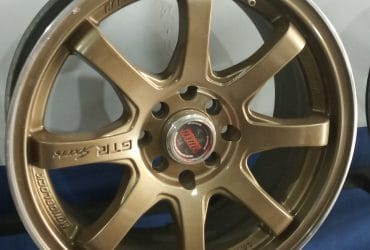 Velg mobil racing second ring 16 gtr sport