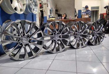 Velg Replika Lexus R20 Pcd 6X139,7 Lebar 8,5 Offset 25 Gunmental