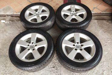 Velg Mobil Oem Honda Civic Ring 16 pcd 5×114 + Ban Toyo 215-55R16
