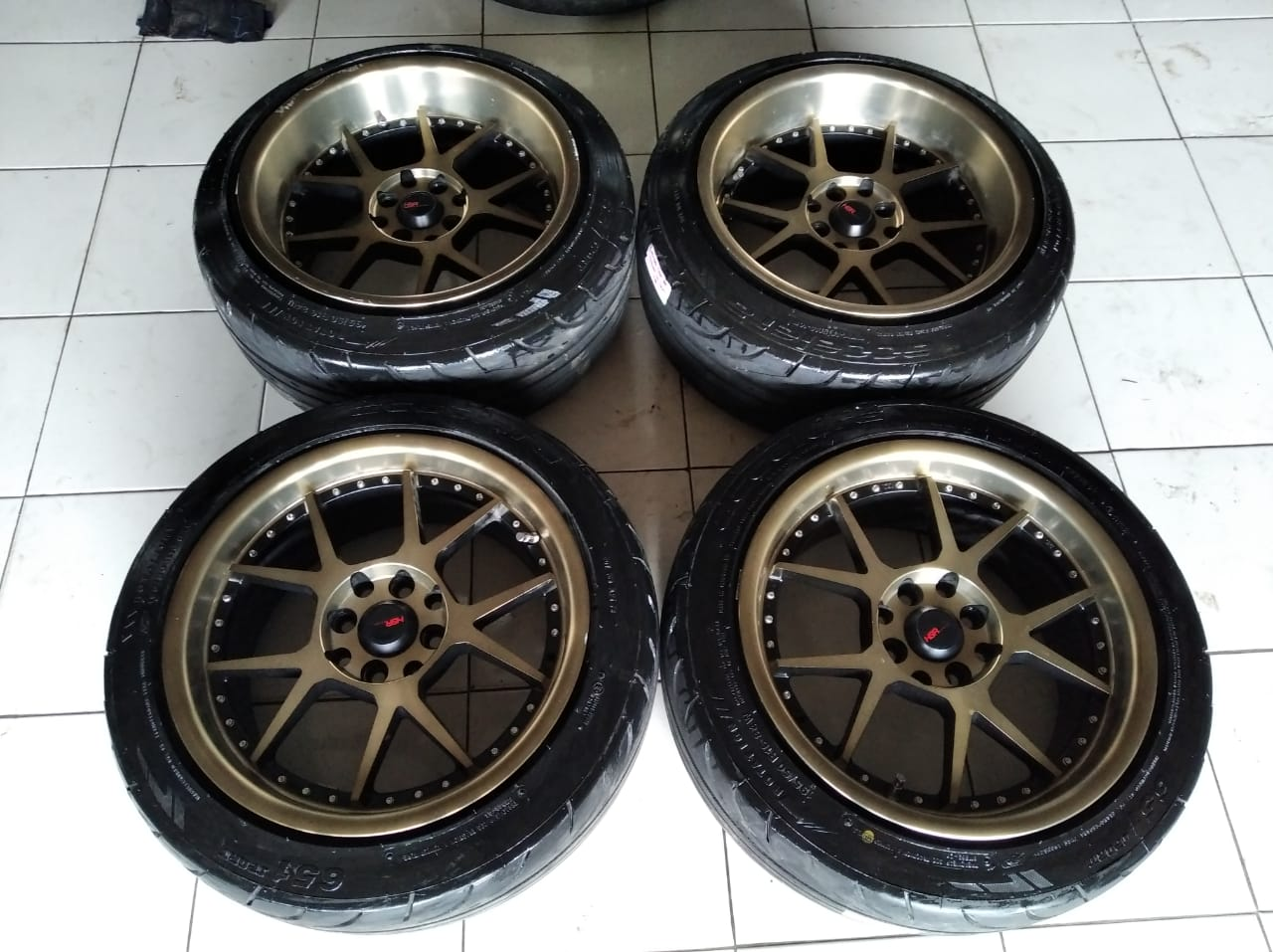 Velg racing HSR Ring 16+ban