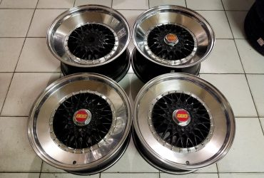 Velg Second BBS Ring 17 lebar 8/9 pcd 4×100/114 Et 32/28