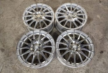 Jual Velg Second Gio Ring 15×6 pcd 4×100 Et 45