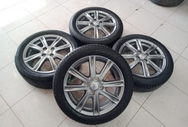 Velg std yaris ring16+ban 195/50-16