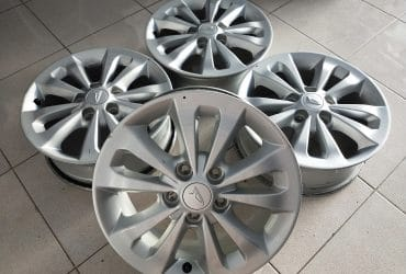 Velg std. Terios ring16 h5x114,3 silver