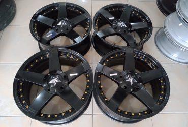 Velg Bekas Rockstar Ring17 Pcd10x100+114,3 Black