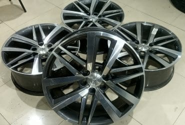 JUAL VELG SECOND REP. FORTUNER VRZ R22X9 PCD 6X139'7 ET 25