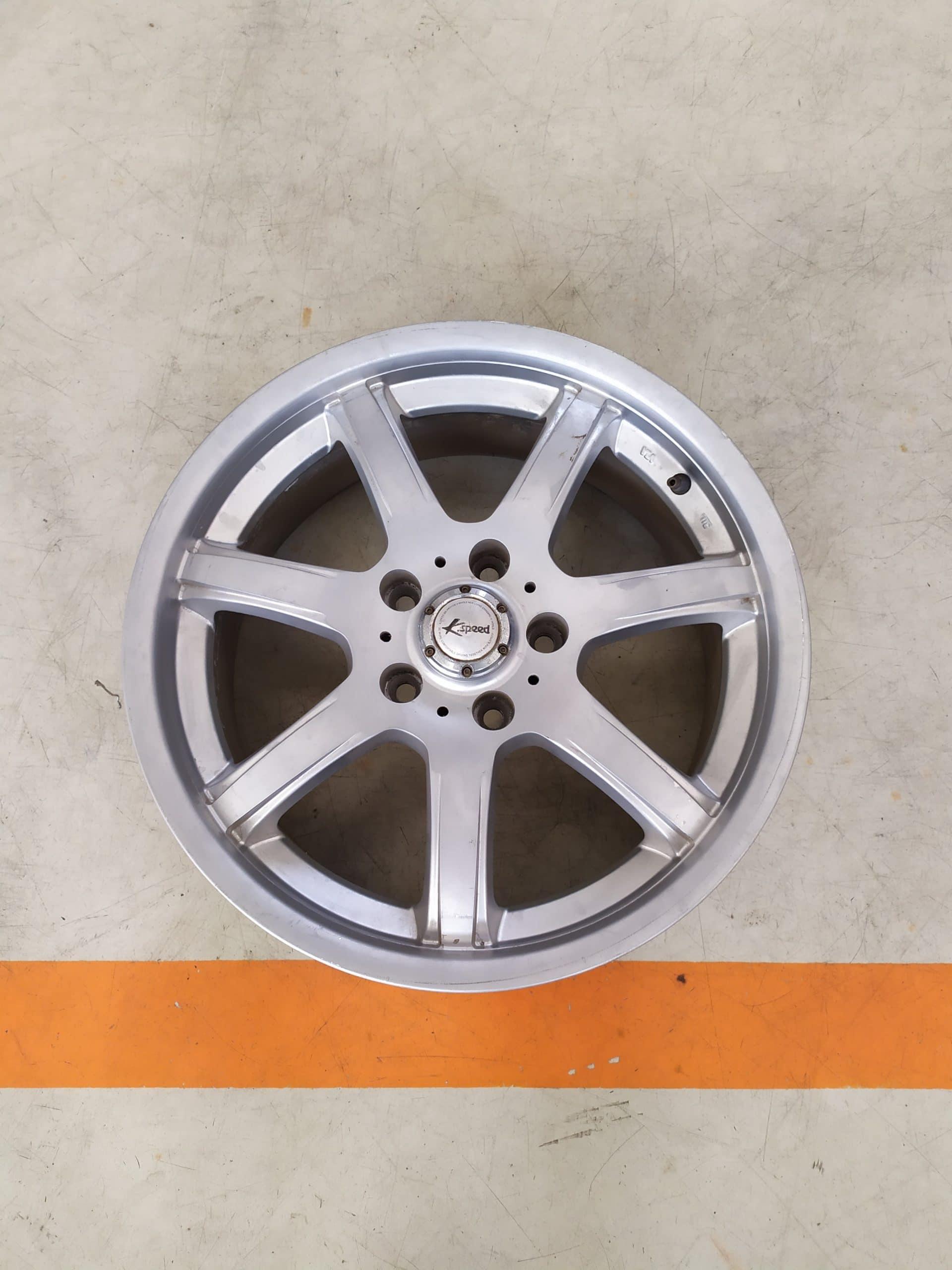 Velg Bekas Type K-Speed Ring 17×7 H:5×114,3 ET:40 silver