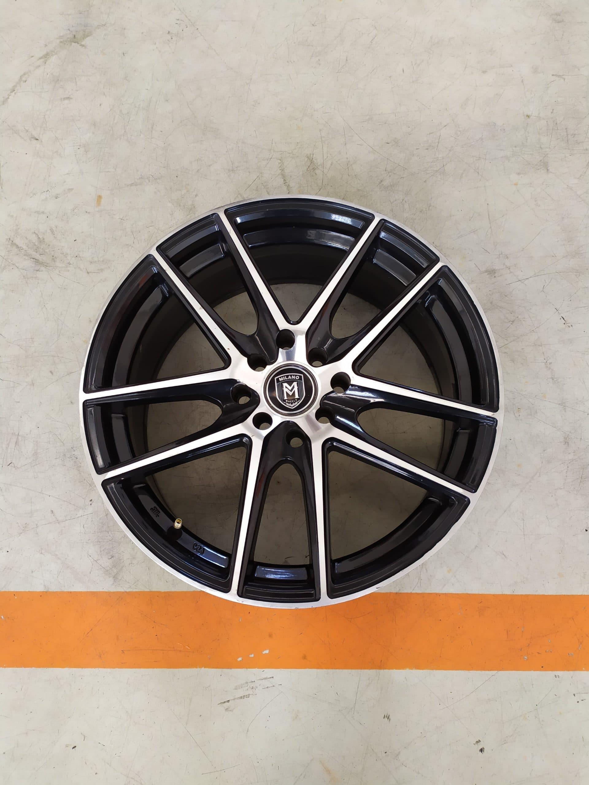 Velg Bekas Type Milano Ring 17 For Xenia,Etios,Jass S,Mazda2 dll