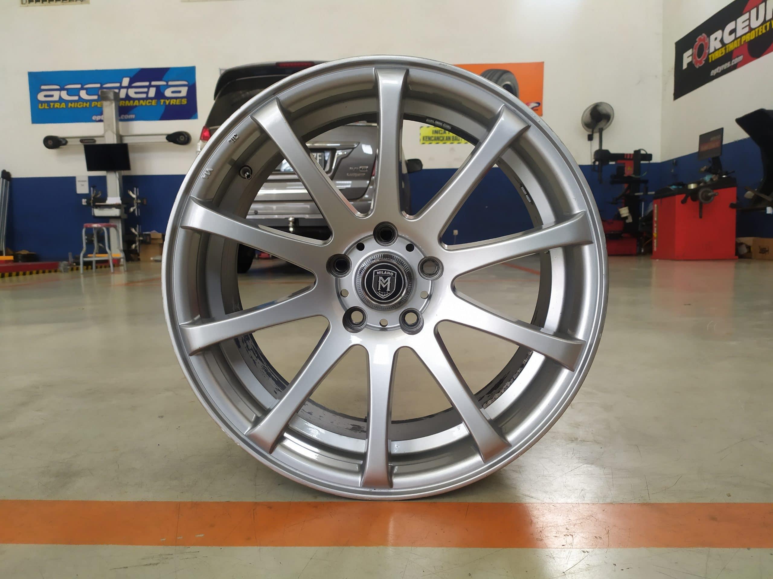 Velg Bekas Type Milano Ring 18 Cocok CR-V,Juke,Camry,Accord dll