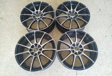 Dijual Velg Second Enkei Ring 17 Black Polish