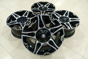 JUAL VELG SECOND RACING MAYHEM R17X7,5 PCD 4X100/114'3 ET42
