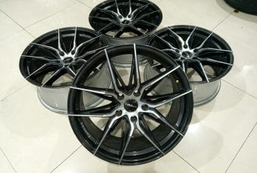JUAL VELG SECOND PRO RACING R18X8/9 PCD 5X114 ET42/40