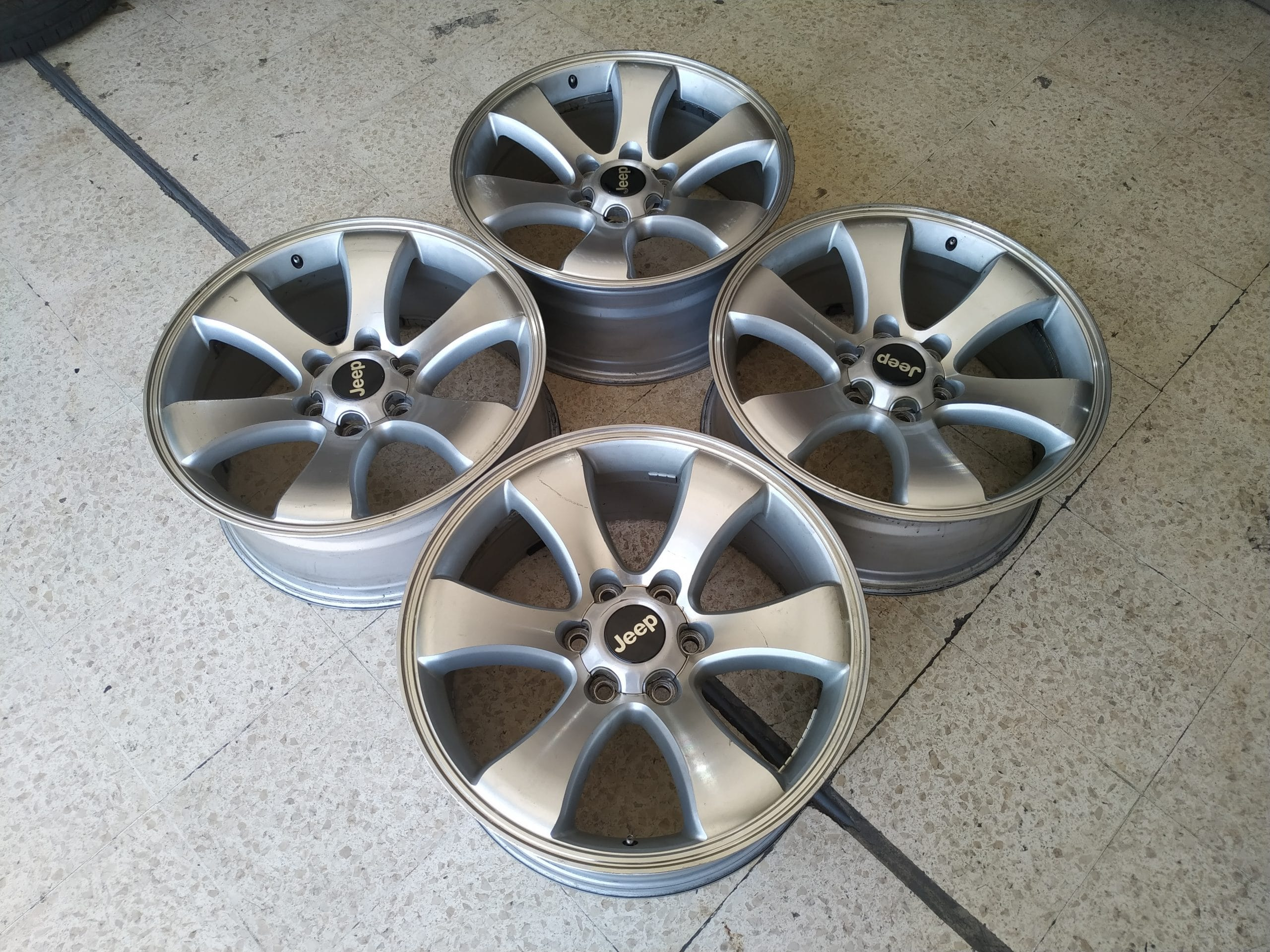 Dijual Velg Ring 20 type Rep Prado Gagah Hole 6