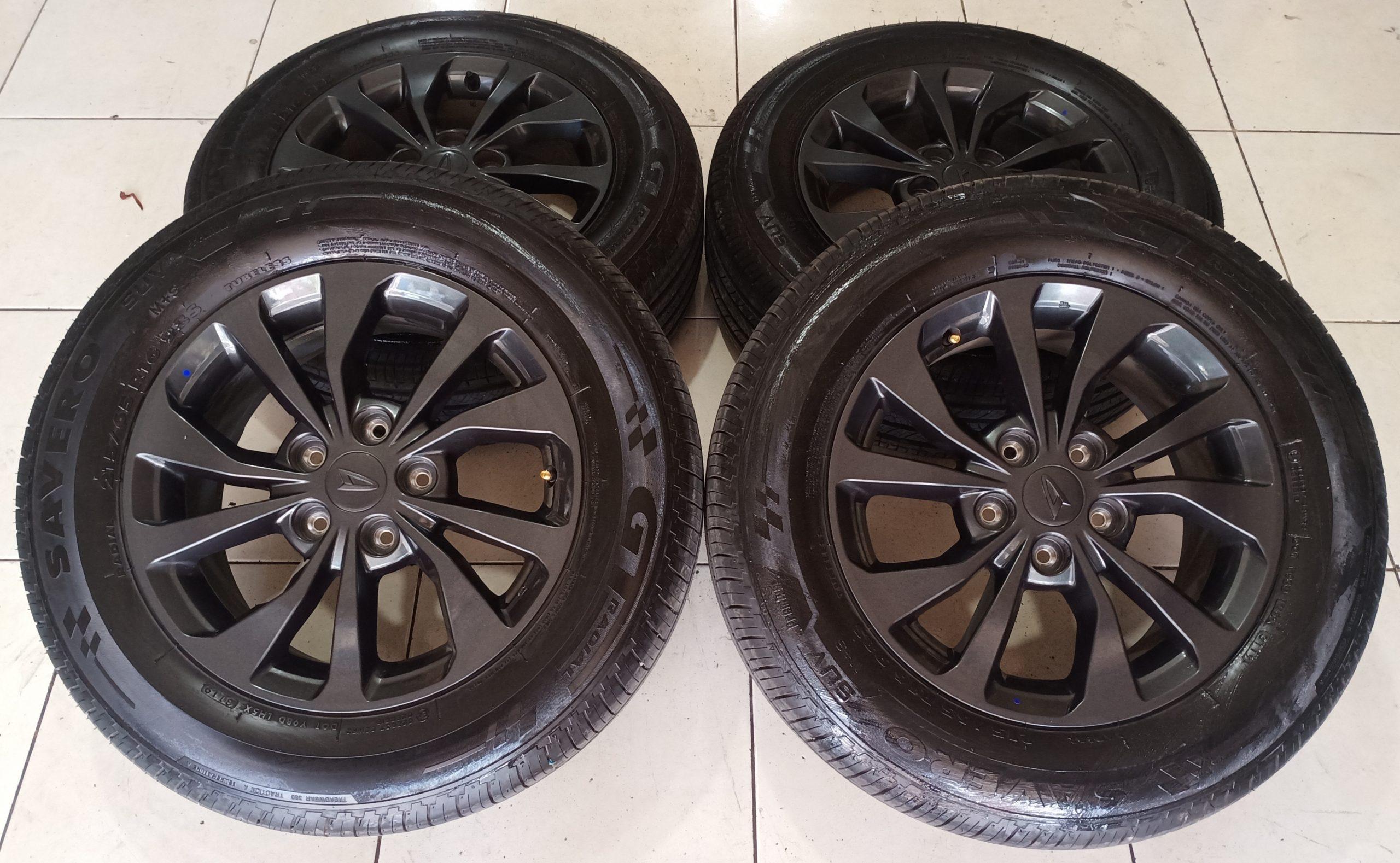 Jual Paket Velg & Ban STD TERIOS + BAN GT 215 65 R16 Murah