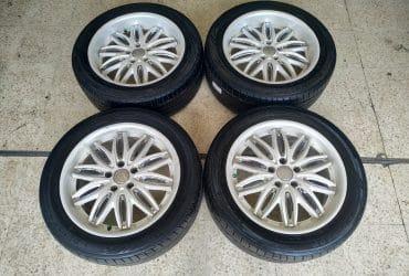 Dijual Paket Velg Ring 18 type Rusttere + Ban Dunlop