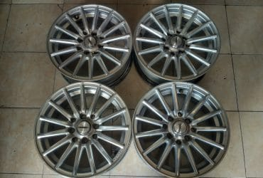 velg only vossen ring 14×5,5inch pcd 4×100, 4×114