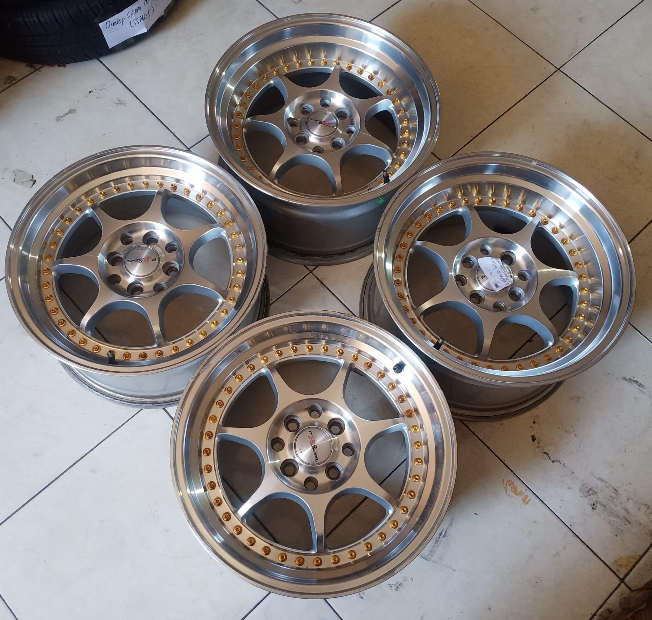 Velg PRO RACING R16X7,5/8,5 8X100/114ET30/35 Murah