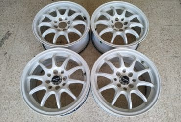 Dijual Velg Racing Enkei Ring 15 Warna Putih
