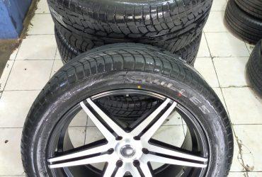 Velg Mobil Racing JF LUXURY RING 22 PCD 6X139.7 BAN 285 45 R20