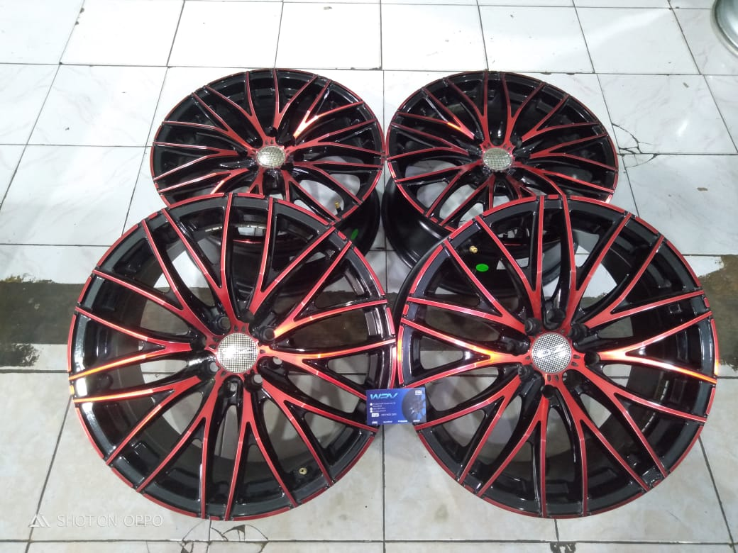 Velg Racing Bekas OZ NAPLES R17X7.5 8X100-114.3