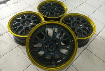 Velg racing untuk vios yaris brio fiesta jazz model rsgt Ring 16