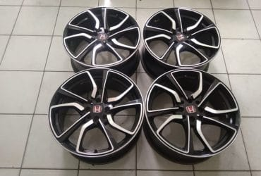 Velg Mobil Second TYPE R R17X7.5 8X100-114.3 ET 40 BP