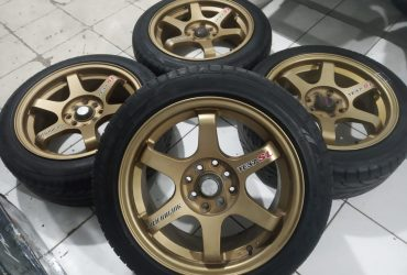 Velg racing untuk jazz yaris vios fiesta sirion model TE37 Ring 16