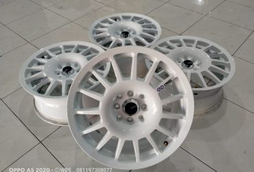 di jual velg secnd oz rally ring 16×7 pcd 4×100 – 4×114 et35