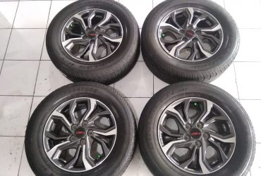 jual velg second ori rush trd ring 16 + ban 235/60