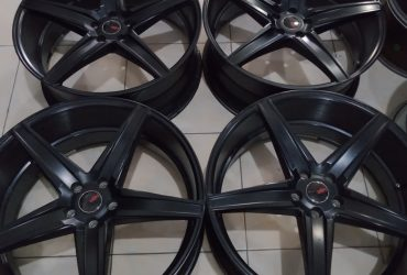 VELG mobil racing EMISSION R22X9 5X114ET40BLACK