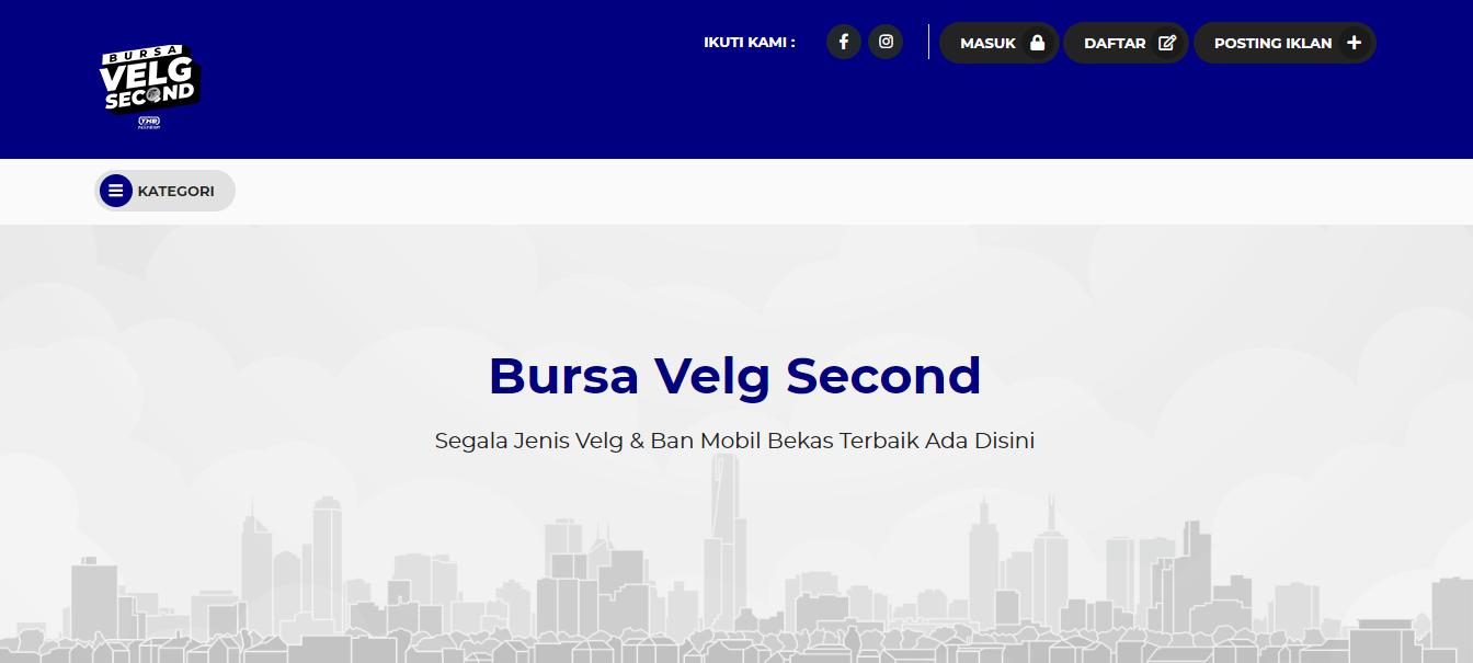 Jual Beli Velg Ban Mobil Bekas? Ya, Bursavelgsecond.com!