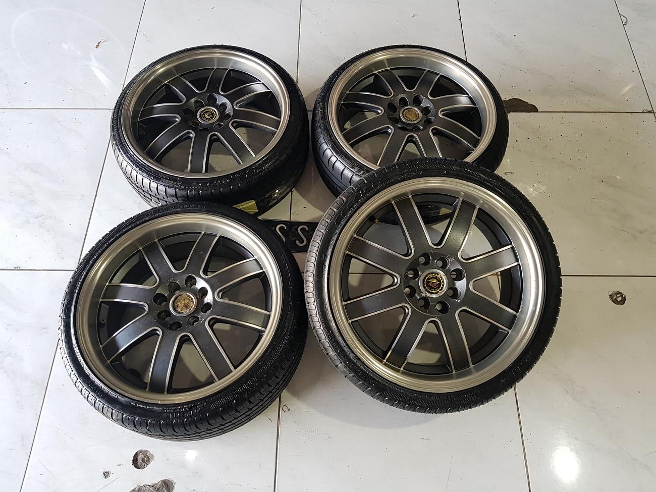 velg dy wheel + ban acelera r17