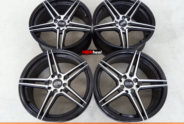 VELG BEKAS TYPE ADV-1 RING 17×7,5 H:8×100/114,3 ET:42 BLACK POLISH