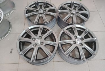 Velg copotan yaris trd ring16x6 h4x100 grey