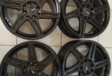 Velg Racing sirius R16x7 warna:black