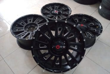 WORK R20X9 6X139,7ET18BLACK (70%)