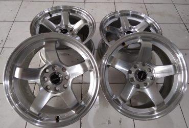 velg second nismo ring 15×7/8 pcd 8×100/114 et 25/35