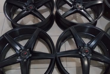 EMISSION R22X9 5X114ET40BLACK(70%)