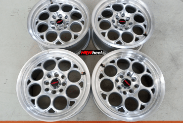 VELG BEKAS REP ROTIFORM RING 15×7 H:8×100/114,3 ET:38 SILVER POLISH