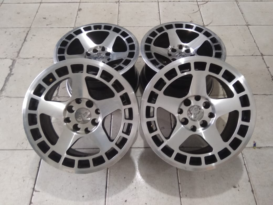 Jual velg racing model fifteen R15 untuk vios yaris sirion swift fiesta