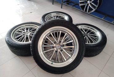 Pelek autospeed murah ring20x8,5 pcd6x139,7 et25 grey polish