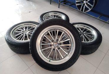 Pelek autospeed murah ring20x8,5 pcd6x139,7 et25 grey polish