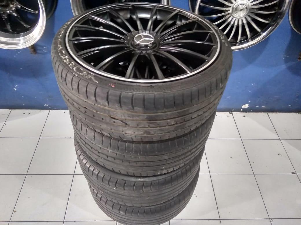Velg racing AMG R20 mercy lebar 8,5/9,5 pcd:5×112