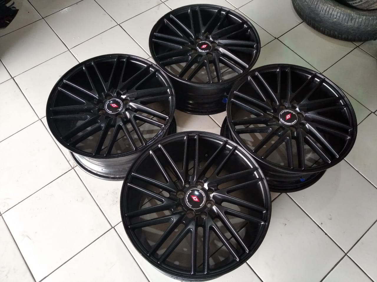 Velg racing vossen ring 17