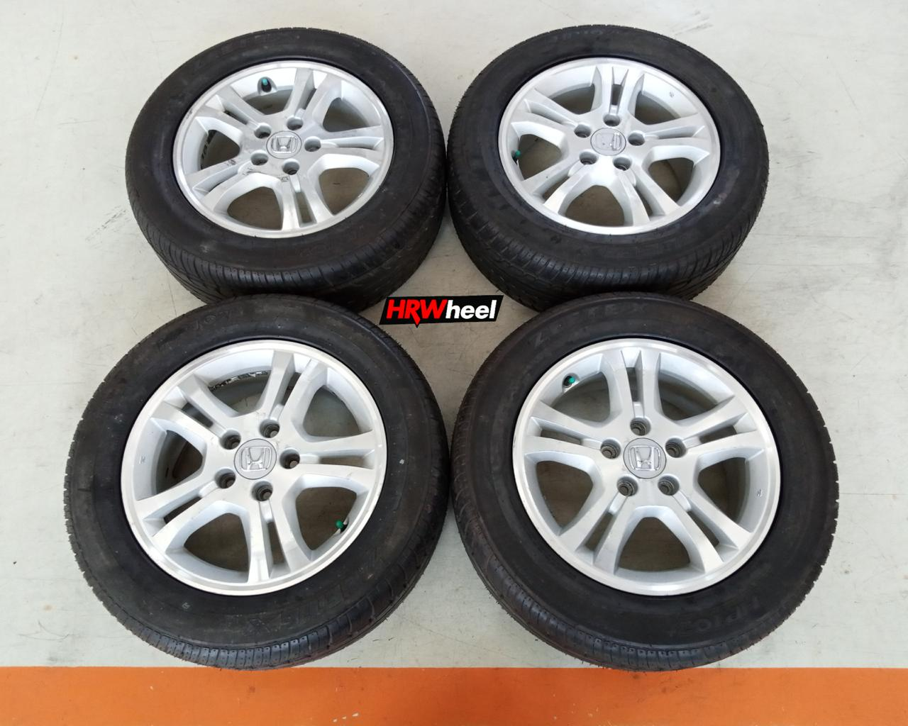 Velg Bekas Original Honda Accord 2007 Ring 16 + Ban Zeetex 225/55/R16