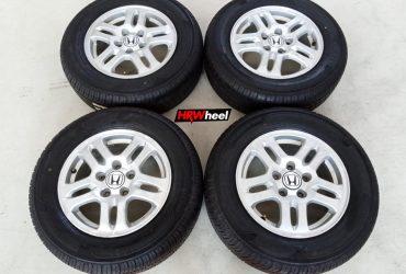 Velg Bekas Original Honda CR-V 2002 Ring 15 + Ban Zeetex ZT2000 215/65/R15