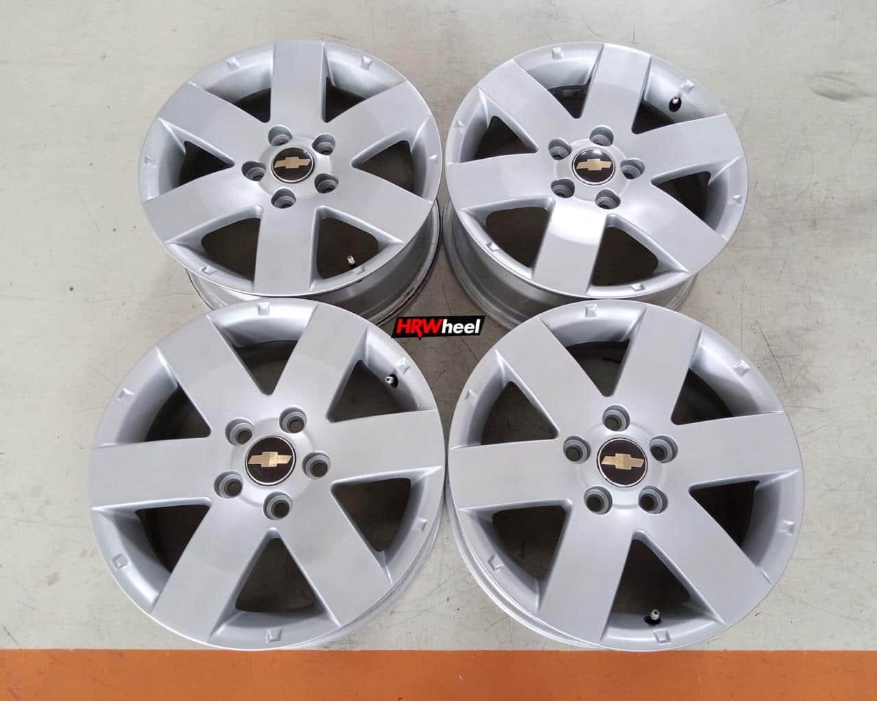Velg Bekas Oem Chevrolet Captiva Ring 16×6,5 H:5×114,3 ET:46 Silver